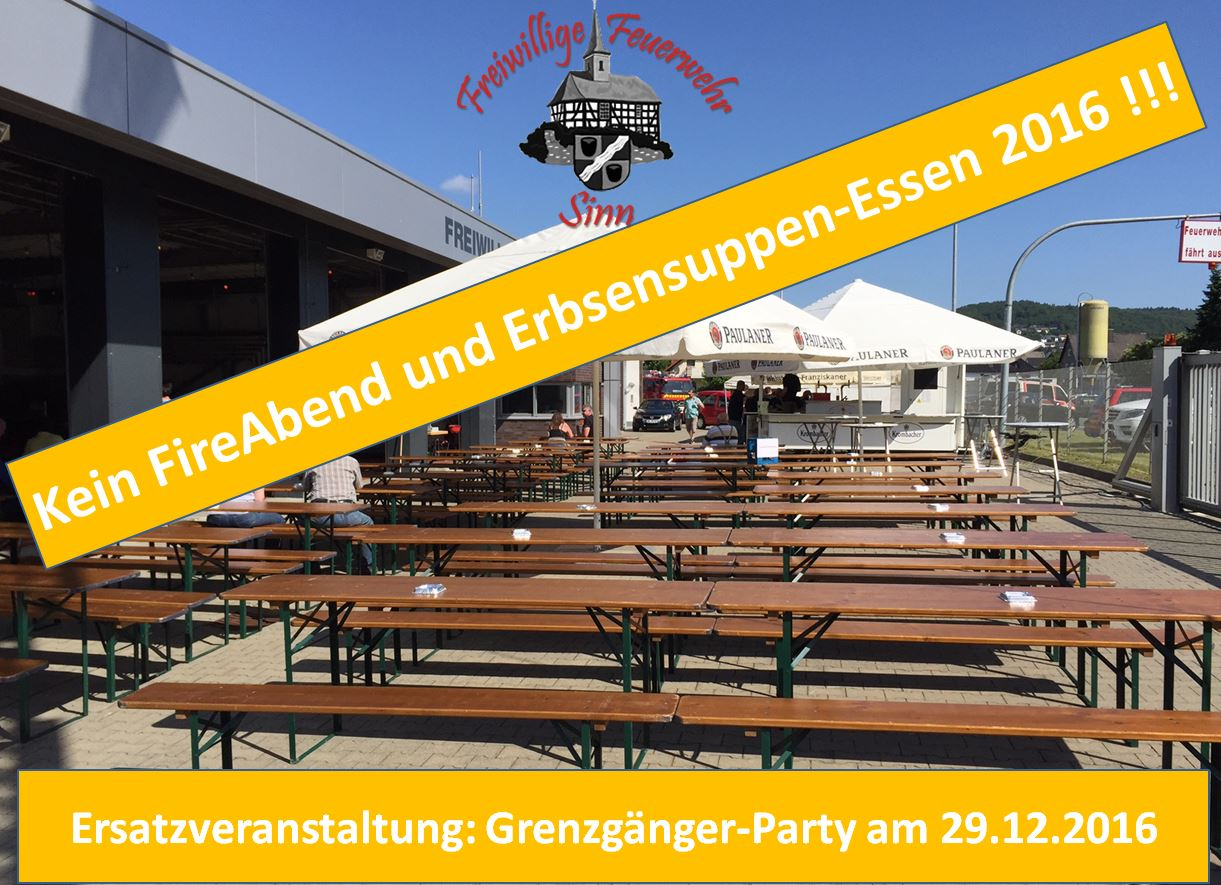 Absage Erbsensuppe 2016